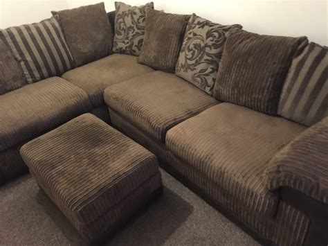 Corner Sofa Cushions by Brown Cushion Back Corner Sofa In Welwyn Hertfordshire