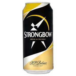 Strongbow Hard Cider Can