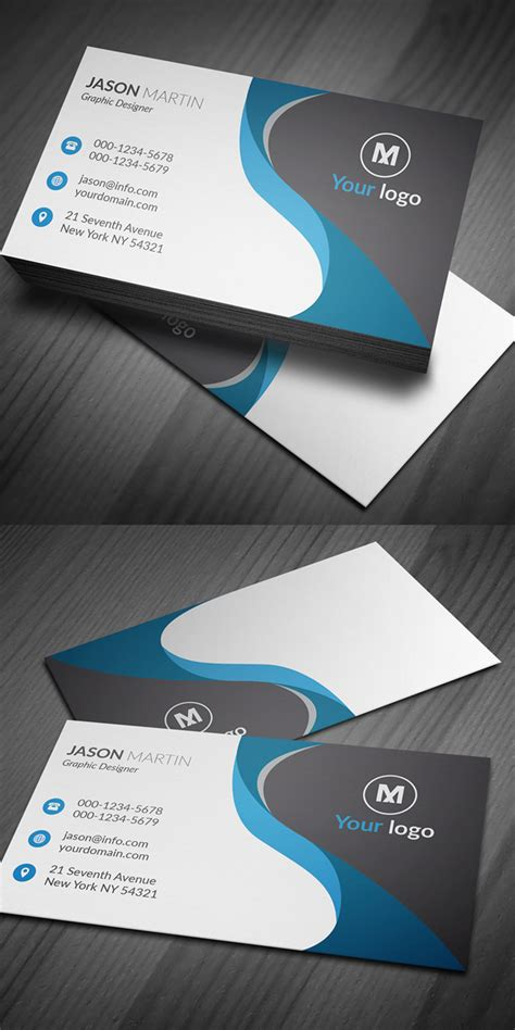 business card template ai 27 new professional business card psd templates design graphic design junction