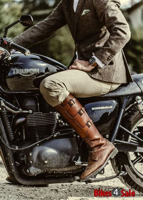 classic leather motorcycle boots biker boots don 39 t dress for the ride instead dress for