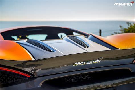 orange mclaren rear orange mclaren 570s in newport beach mclaren logo