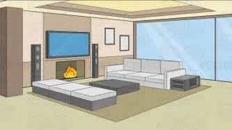 livingroom pictures clipart a modern comfy living room background