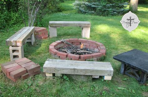 gas fireplace insert rocks budget pit from reclaimed brick prodigal pieces