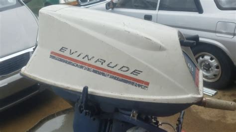1969 Evinrude Fastwin 18 Hp Running Again