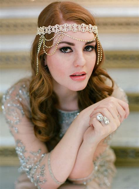 boho forehead bands beautiful halo crowns bridal style