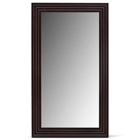 floor mirror value city wyatt floor mirror black value city furniture