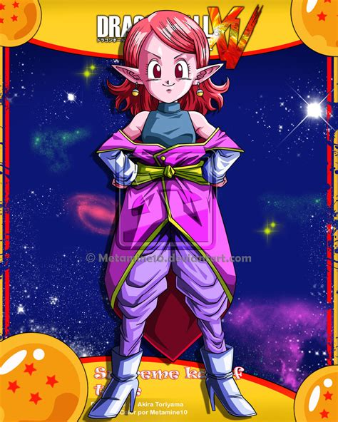 DB Xenoverse Supreme Kai Of Time By Metamine On DeviantArt