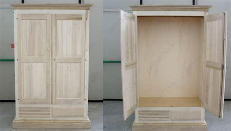 pratelli mobili armadio  legno grezzo  la cameretta