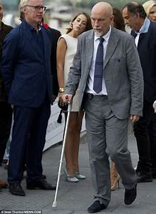John Malkovich, 60, looks exhausted at Spain's San ...