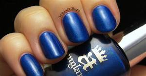 Lacquer Buzz: Monday Blues: A-england Order of the Garter