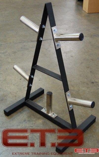frame weight tree   hold olympic plates diy home gym diy gym equipment diy gym