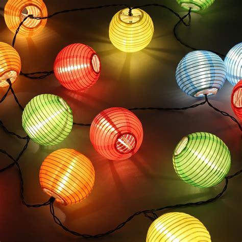 led solar lampion lichterkette er partylichterkette deko