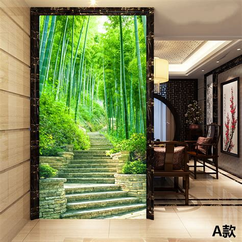 custom photo wallpaper  scenic wallpaper mural bamboo