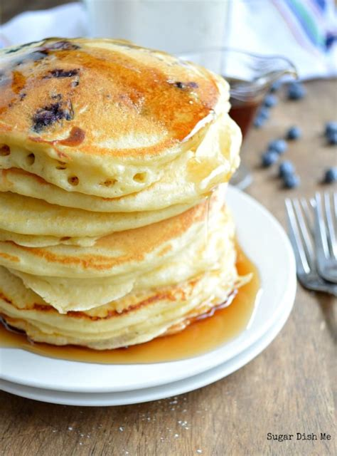 easy pancakes fluffy pancakes recipe dishmaps