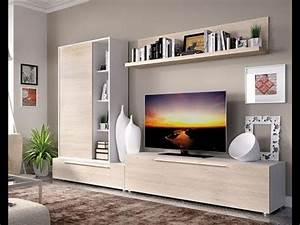 Table Tv Design : led tv wall unit stand table showcase collections 2017 led tv unit designs youtube ~ Teatrodelosmanantiales.com Idées de Décoration