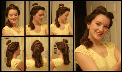 Belle's Hair (ballgown) By Durnesque On Deviantart