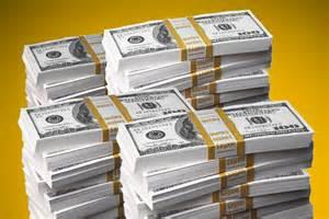 Huge Stack of Cash