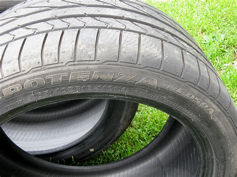 bridgestone potenza re050a bridgestone potenza re050a 265 40zr18 performance tires