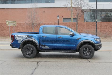 Ford Ranger Raptor Spotted Testing on Michigan Streets ...
