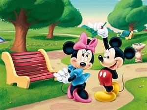 Micky Maus Und Minnie Maus : mickey mouse and minnie mouse in the park desktop wallpaper hd ~ Orissabook.com Haus und Dekorationen