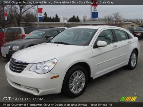2007 Chrysler Sebring Limited by White 2007 Chrysler Sebring Limited Sedan