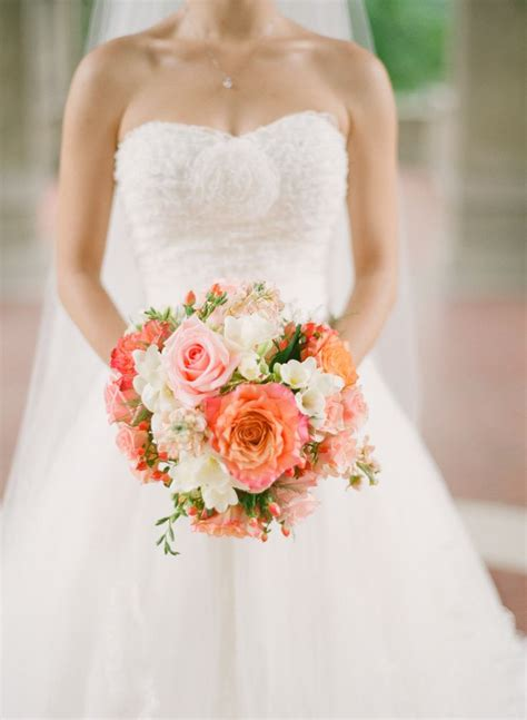 coral wedding dresses ideas  pinterest coral