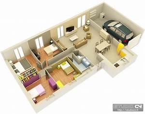 Maison Plan 3d