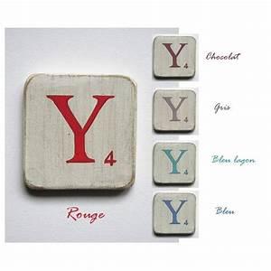 Lettre Decorative A Poser : lettre d corative poser marron ~ Dailycaller-alerts.com Idées de Décoration