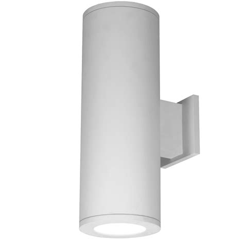tube 85cri double outdoor up and down wall sconce by w a c
