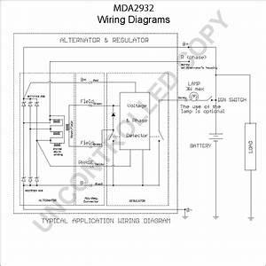 Ac Delco Alternator Wiring Diagram Sample