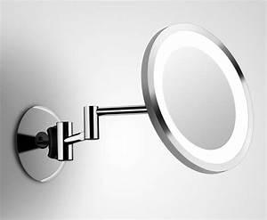 Miroir Rond Lumineux : miroir avec lumiere pour coiffeuse clairage de la cuisine ~ Zukunftsfamilie.com Idées de Décoration