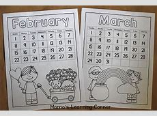 Color Your Own Calendar! Mamas Learning Corner