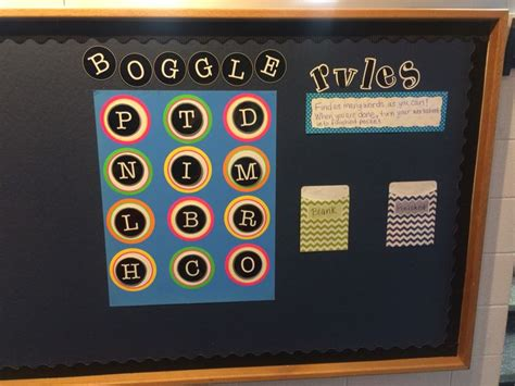 1000+ Ideas About Boggle Bulletin Board On Pinterest