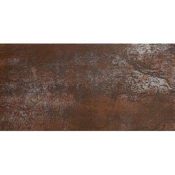credence adhesive cuisine carrelage métal rouillé marron30x60 véranda froufrou