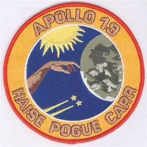 "NASA - Apollo 19 - Canceled Mission 4.5"" Patch - SciFi Geeks"