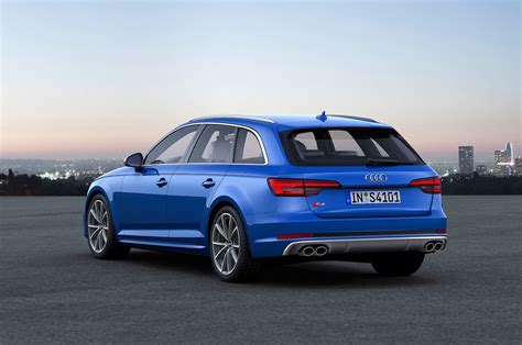 Top-spec 2017 Audi S4 Avant Revealed For Europe