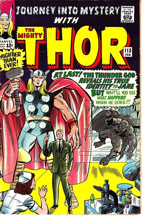 Pin by Zam on Jack Kirby Thor Covers & Art | Thor comic ...