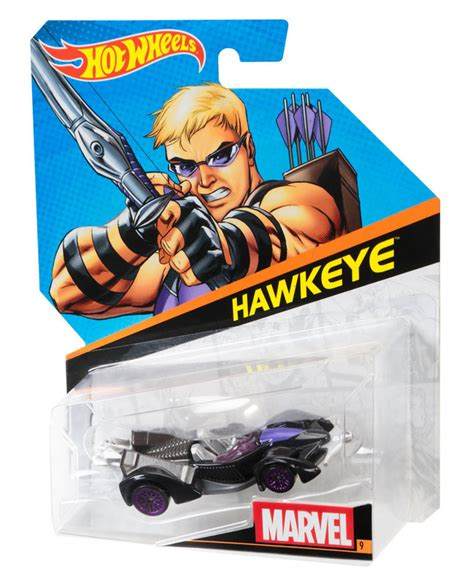 hot wheels marvel character cars hawkeye shop hot