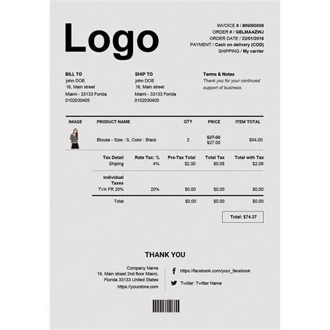 standard invoice templates erweiterte rechnung lieferung pdf template builder