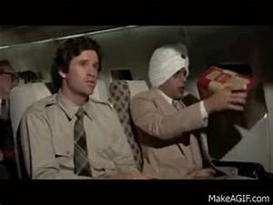 Airplane - suicide scenes on Make a GIF