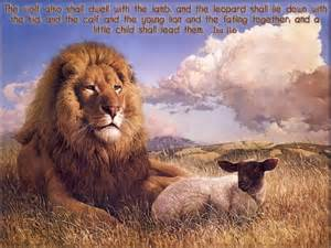 Lion and Lamb Scripture