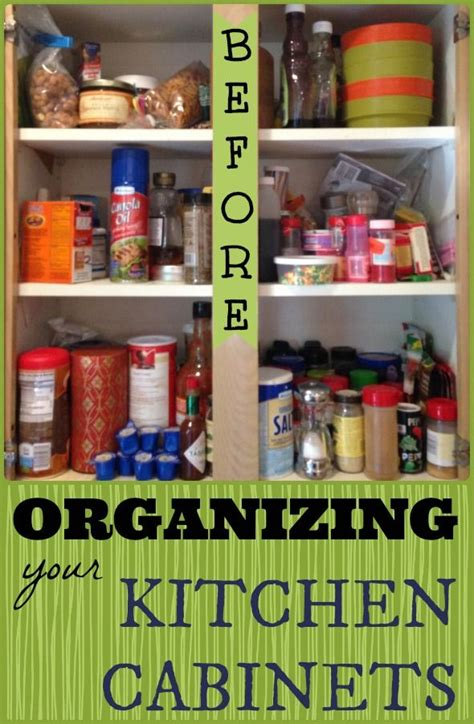 How To Organize Spices In Cupboard by Organized Kitchen Cabinet Spices Home Storage