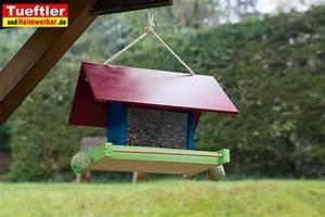 Futterhaus Für Vögel Selber Bauen : vogelfutterhaus selber bauen bauanleitung f r futterh uschentueftler und ~ Whattoseeinmadrid.com Haus und Dekorationen