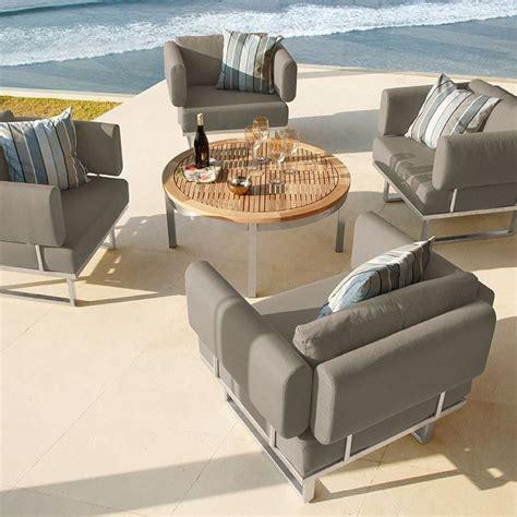 barlow tyrie mercury lounge chair teak outdoor