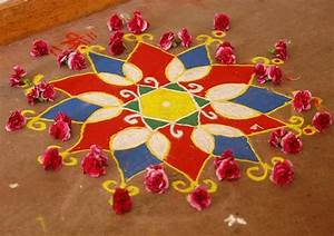 Mesmerising Rangoli Designs and Patterns For Home and