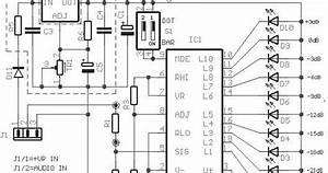build a 10 led bar dot vu meter circuit based lm3915 With vu meter 1