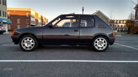 Peugeot 205 Gti For Sale Usa by 1988 Peugeot 205 Gti Rhd Clean In Usa Classic