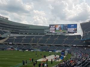 Section 219 At Soldier Field Chicago Bears