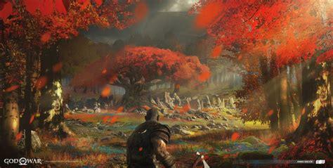 Santa Monica Studio God Of War Art Blast—concept Art