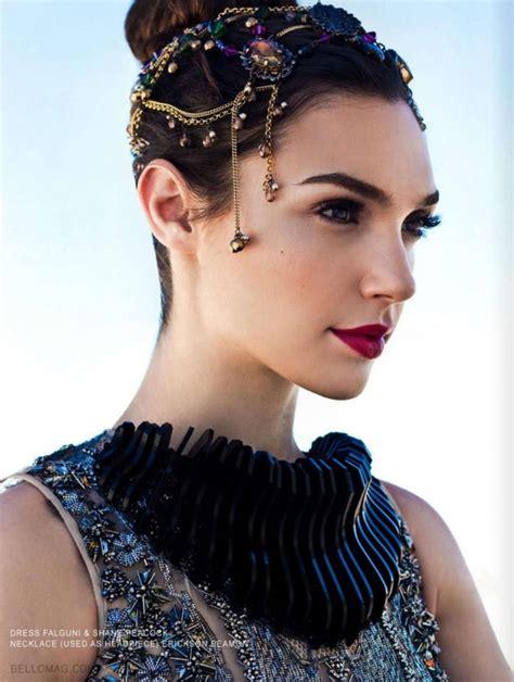 sophies fashion blog gal gadot  bello magazine
